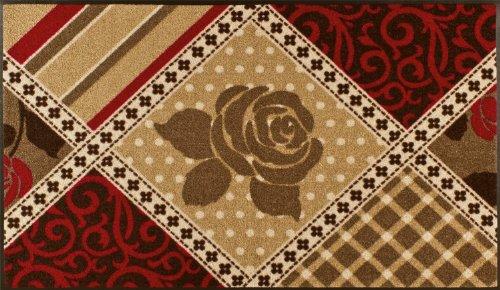 Fußmatte Cottage Roses 75×120 cm