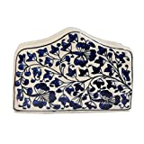 Craftghar Blue Pottery Napkin Holder