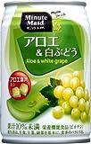 (お徳用ボックス) ミニッツメイド アロエ&白ぶどう280g缶×24本
