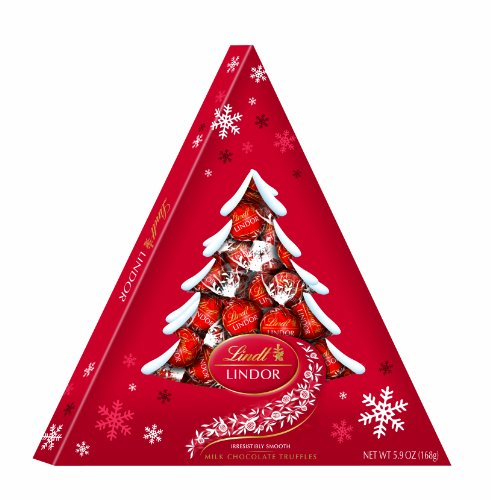 Lindt Lindor Truffles Holiday,  Milk Tree Box,