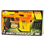 Lanard Shell Shock X-6 with Ammo Clip ~ Lanard