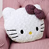Hello Kitty Leopard Bow Pillow