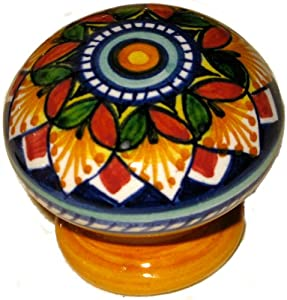 Italian Ceramic Drawer/Cabinet Knob - Cabinet And ...