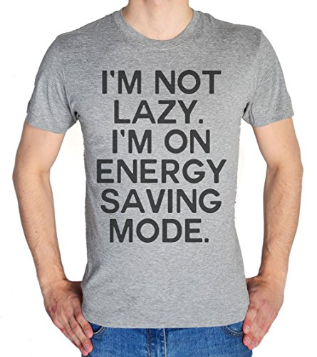 I'm Not Lazy, I'm On Energy Saving Mode Men's T-Shirt Small