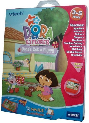 VTech - V.Smile Smart Book-Dora the Explorer