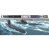 1/700 ウォーターラインシリーズ ドイツ海軍 潜水艦Uボート 7C/9C プラモデル 901