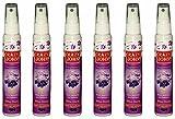 Air Freshner - Floral Aerosole Spray - Pack of 6 - By Crazy John
