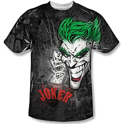 Batman Joker Sprays The City Sublimation T-Shirt