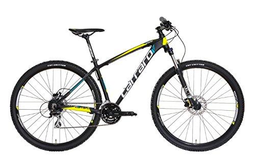 Bici Mountain Bike front suspended mtb Carraro Comp Rc 29 nuova in taglia L, colore nero, già montata al 95%