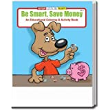 Be Smart Save Money Coloring and Activity Book