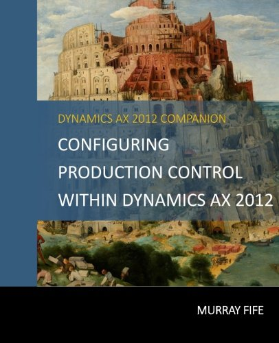 Configuring Production Control Within Dynamics AX 2012