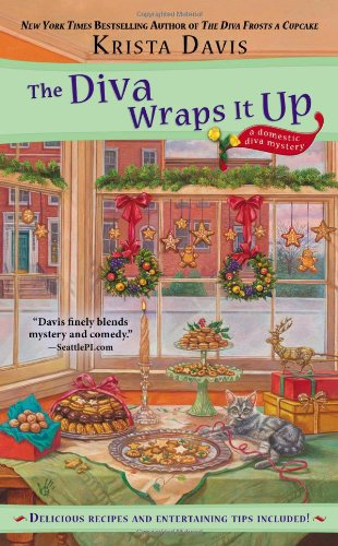 The Diva Wraps It Up (A Domestic Diva Mystery) front-821856