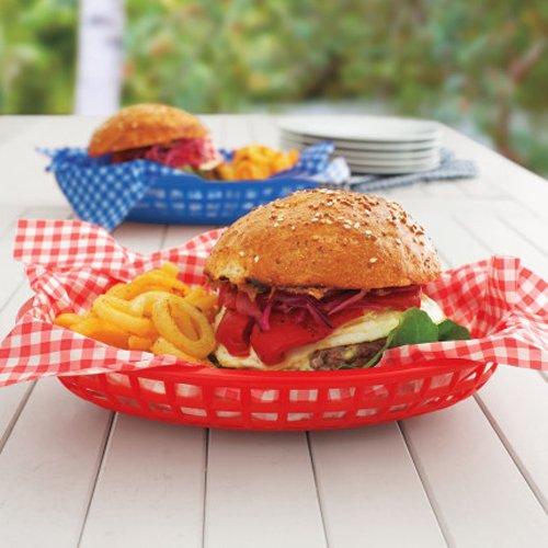 Sur La Table Burger Basket, Red