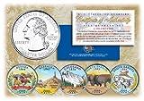 2006 US Statehood Quarters COLORIZED ...