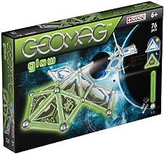 Geomag 332 - Kids Panels Glow Space, 76 pcs