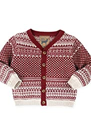 Cotton Rich Fair Isle Cardigan with Cashmere [T78-8746F-Z]