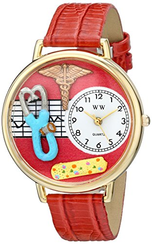 whimsical-watches-nurse-2-red-in-gold-womens-quartz-watch-with-white-dial-analogue-display-and-red-l