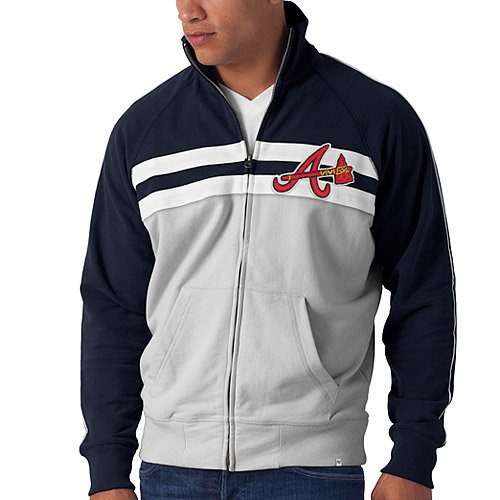 Atlanta Braves Game Day Track Jacket by 47 Brand at Amazon.com