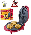 Smart Planet Peanuts Snoopy & Charlie Brown Character Waffle Maker