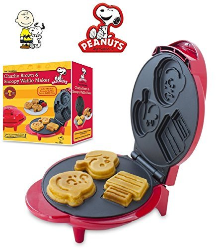Review Of Smart Planet Peanuts Snoopy & Charlie Brown Character Waffle Maker
