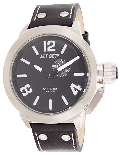 Jet Set Men's Watch San Remo black/silver J11423-267