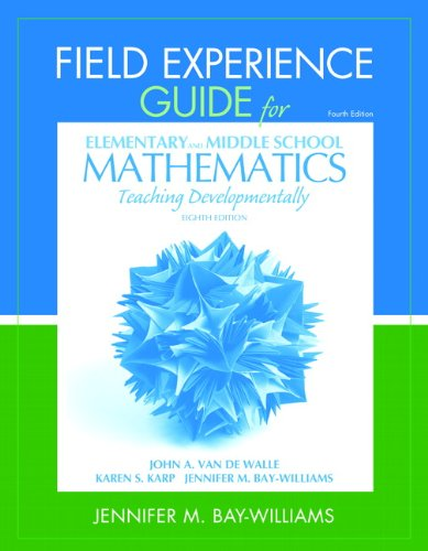 Field Experience Guide for Elementary and Middle School...