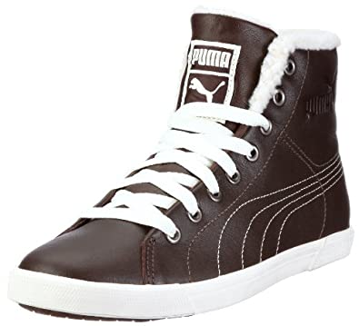 Puma Benecio Mid Fur WTR 352385, Unisex - Erwachsene Sneaker, Braun (chocolate brown 02), EU 44.5 (UK 10) (US 11)