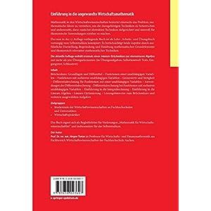 Einführung in die angewandte Wirtschaftsmathematik: Das praxisnahe Lehrbuch - inklusive Brückenkur