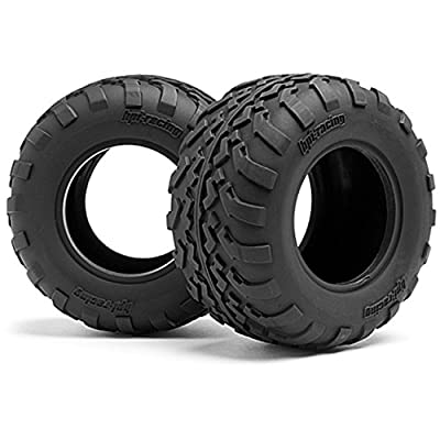 "HPI Racing 105282 GT2 Tires, D Compound, 2.2"" (109x57mm) (2)"