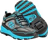Heelys Swift Wheel skate shoes Black/cyan Size 4 UK