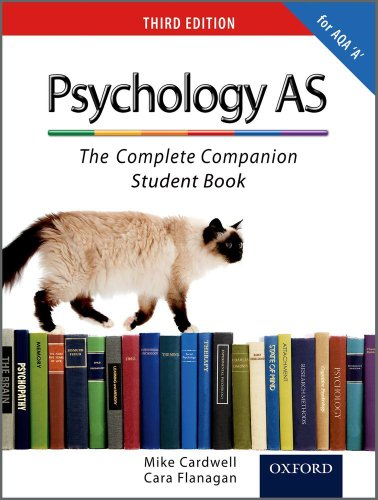 Psychology as: The Complete Companion Student Book