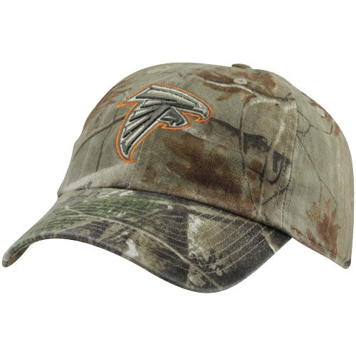 NFL '47 Brand Atlanta Falcons Clean Up Adjustable Hat - Realtree Camo at Amazon.com