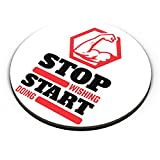 PosterGuy Stop Wishing Start Doing Gym, Start, Motivated, Do It Fridge Magnet