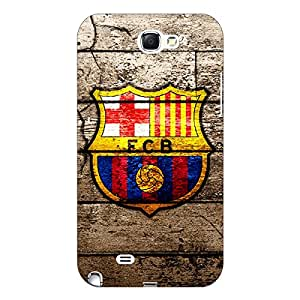 Jugaaduu Barcelona Back Cover Case For Samsung Galaxy Note 2 N7100