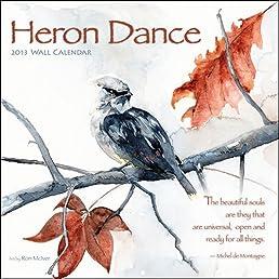 Heron Dance 2013 Calendar