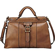 Hot Sale Fossil Vintage Revival Satchel Shoulder Bag Pecan