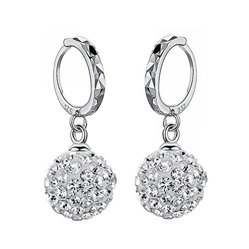 925-boucles-doreille-dargent-10-mm-crystal-spheres-boucles-doreilles-cristal-autrichienne-swarovski-