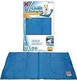 "Hugs Pet Products Chillz Pad Comfort Cooling Gel Pet Pad, Blue, Large (36"" x 20"")"