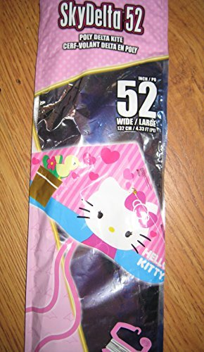 Sky Delta 42-inches Poly Delta Kite:hello Kitty