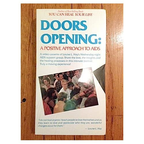 .com: Doors Opening: A Positive Approach To Aids [VHS]: Louise Hay