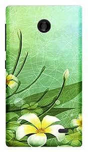 TrilMil Printed Designer Mobile Case Back Cover For Nokia X Plus