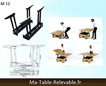 Table relevable mecanisme - Mecanisme pour table basse relevable ...