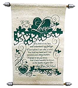 Natali Love Scroll Card
