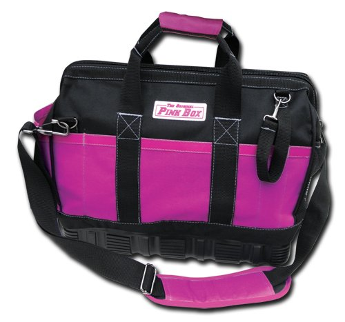 Images for The Original Pink Box PB15RBTB 15-Inch Pink Rubber Base Tool Bag