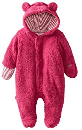 Magnificent Baby Baby-Girls Infant Hooded Bear Pram, Raspberry, 3 Months