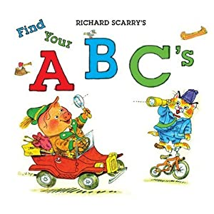 Richard Scarry's Find Your ABC's e-book