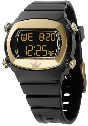 Adidas Candy Black and Gold Ladies Watch - ADH1572