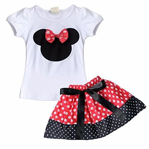 iEFiEL-Conjunto-de-Camiseta-y-Pantalones-Cortos-o-Falda-de-Verano-para-Bbes-y-Nias-con-Lunares-Minnie-Mouse-Falda-Rojo-2-3-Aos