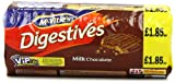 Mcvitie's Digestives Milk Chocolate 300 g (Pack of 15)