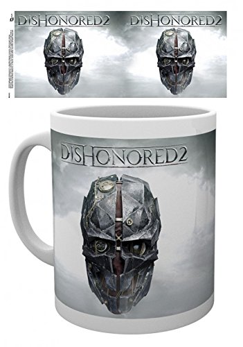 Set: Dishonored, 2, Keyart Tazza Da Caffè Mug (9x8 cm) E 1 Sticker Sorpresa 1art1®